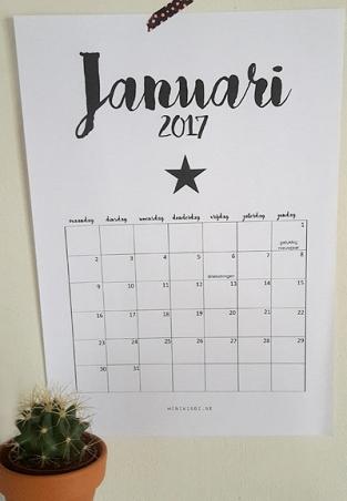 geprintjankalender